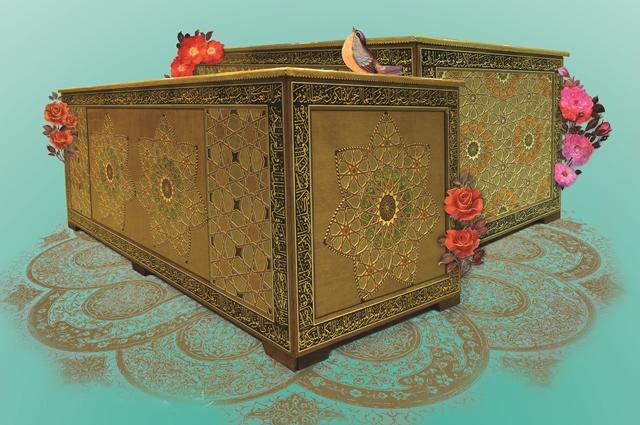 رونمایی از صندوقهای مضجع شریف امامین جوادین(ع)